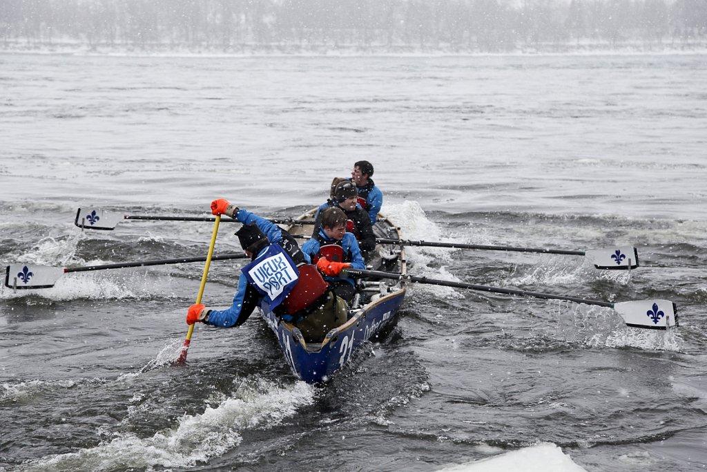 Ice Canoe Challenge