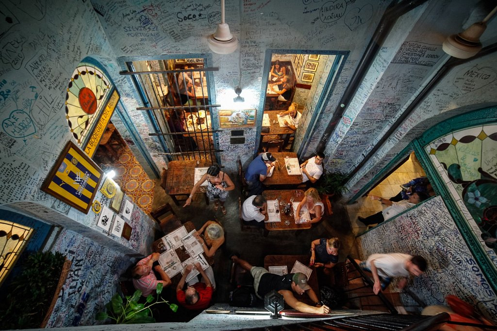 Hemingway`s Bodeguita del Medio, Havana.